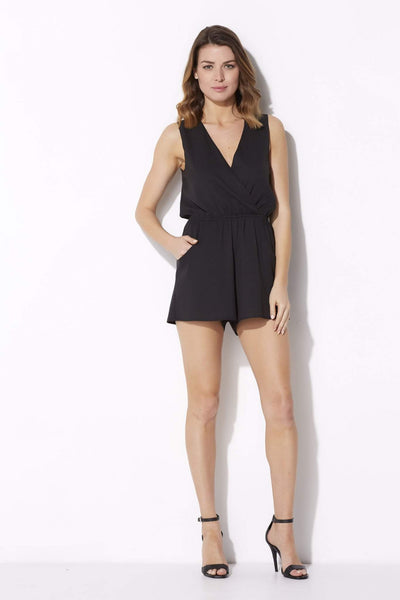 Sleeveless V-Neck Romper