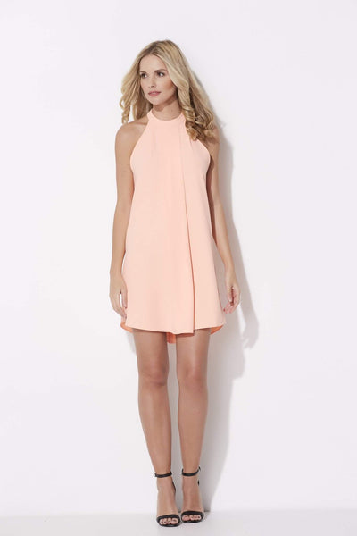 High Neck Melon Dress