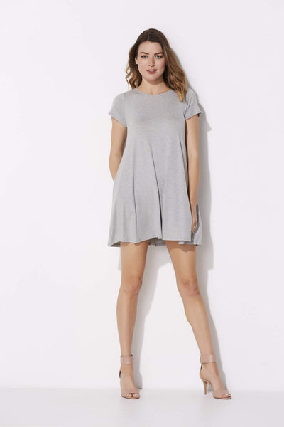 Heather Gray Shift Dress