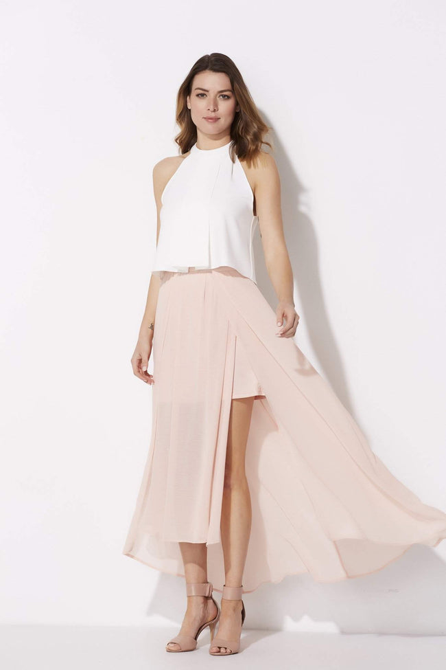 Blush Sheer Skirt