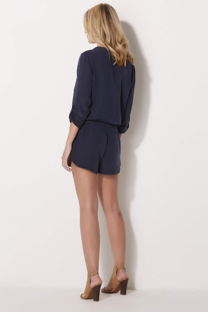 Tencel Button Up Romper