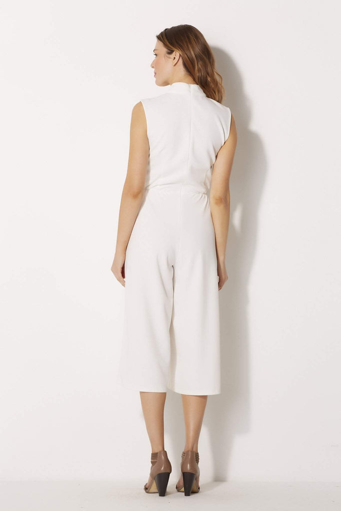 High Neck Wide Leg Jumpsuit