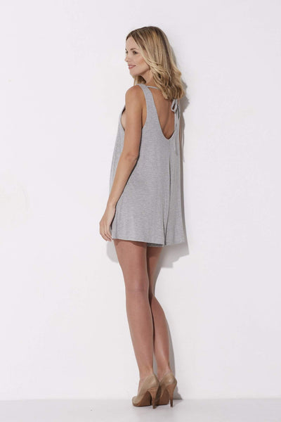 Heather Gray Romper