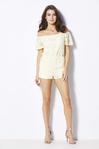 Cupcakes & Cashmere Haidyn Romper - Front