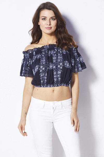 Endless Rose Hibiscus Top - Front