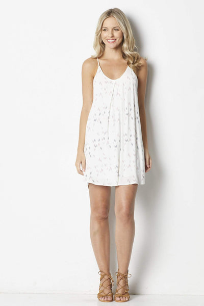 Bishop + Young Confetti Inverted Pleat Dress - Front