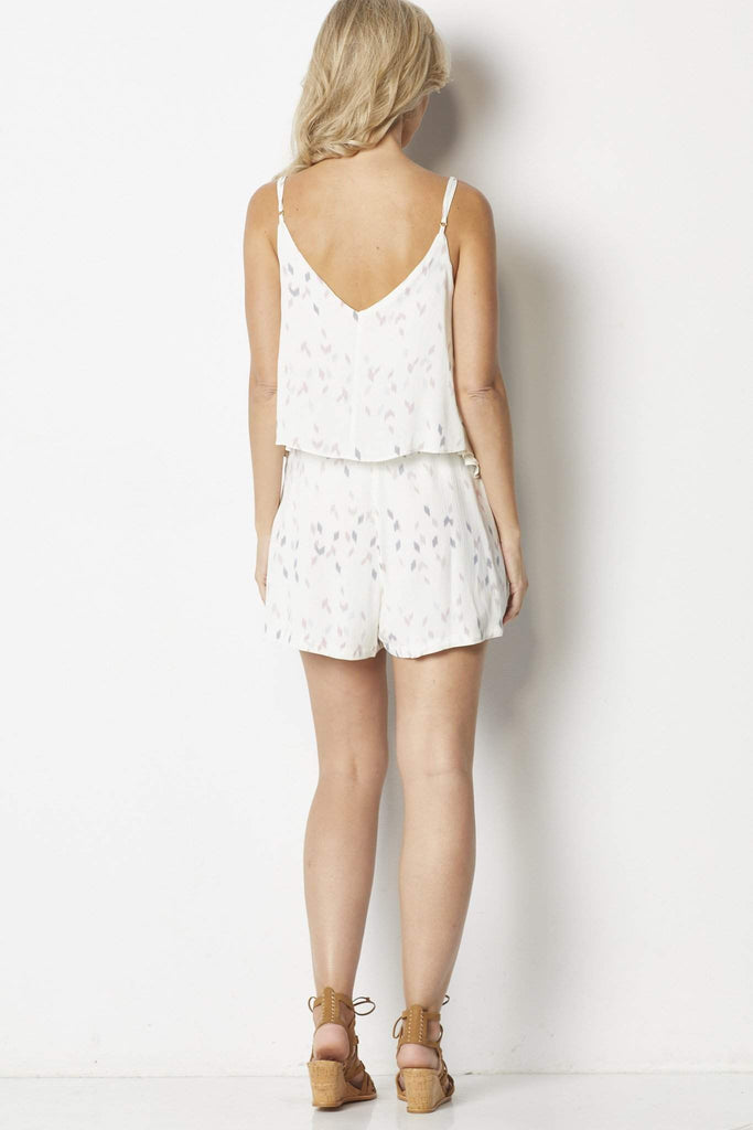 Bishop + Young Ellie Tiered Romper  - Back