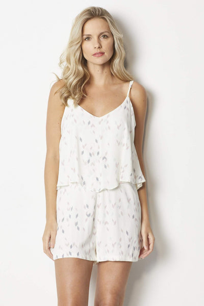 Bishop + Young Ellie Tiered Romper  - Front