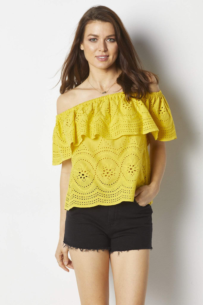 Cupcakes & Cashmere Davy Top - Front