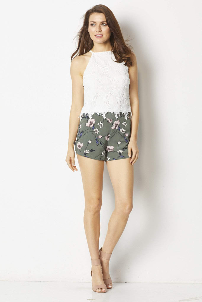 Bishop & Young Romantic Lace Tank - Front