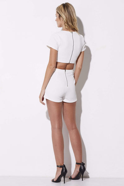 Cross Front Romper