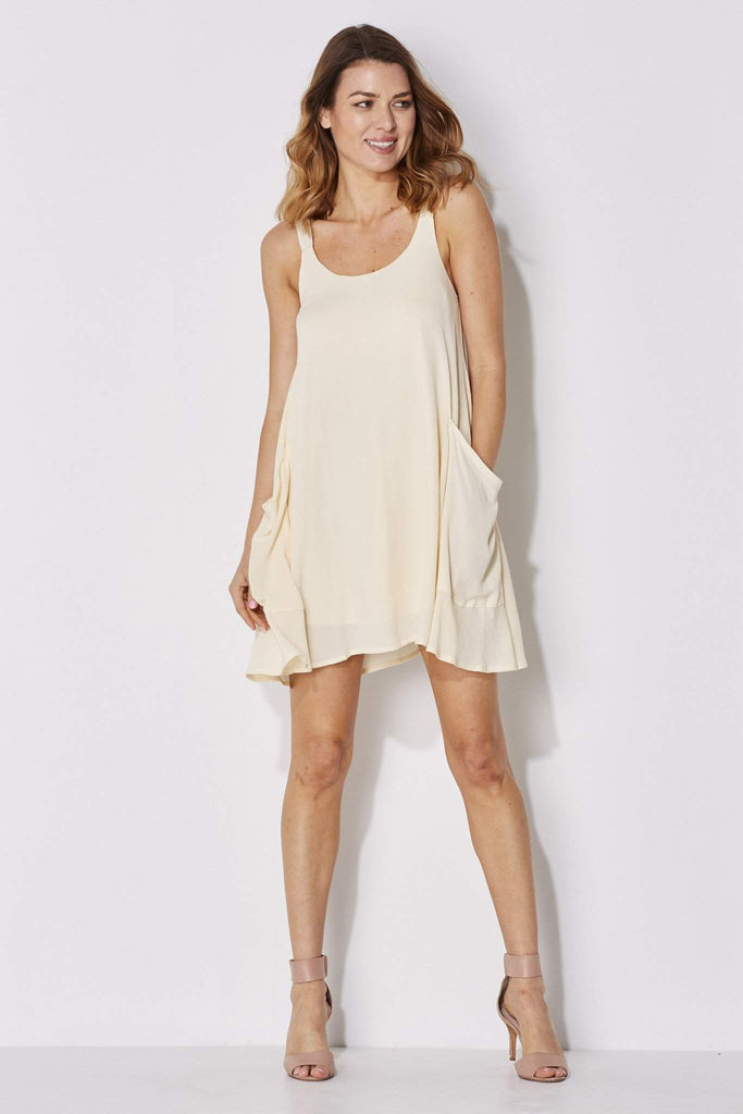 On the Road - Pocket Swing Dress - front