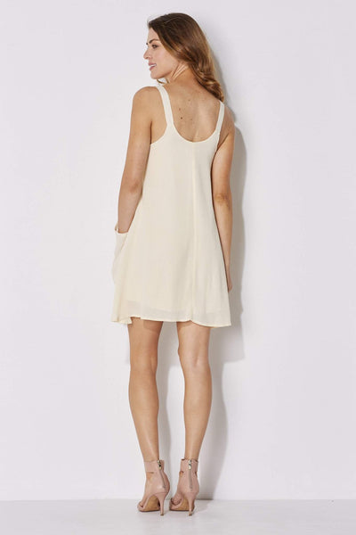 On the Road - Pocket Swing Dress - rear