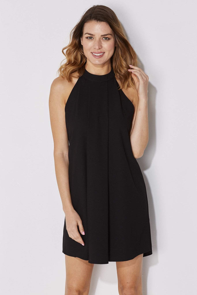 Bishop + Young - High Neck Black Dress