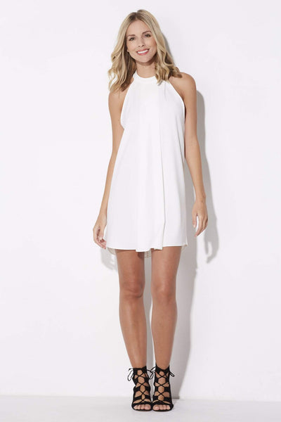 Bishop + Young - High Neck Swing Dress - front
