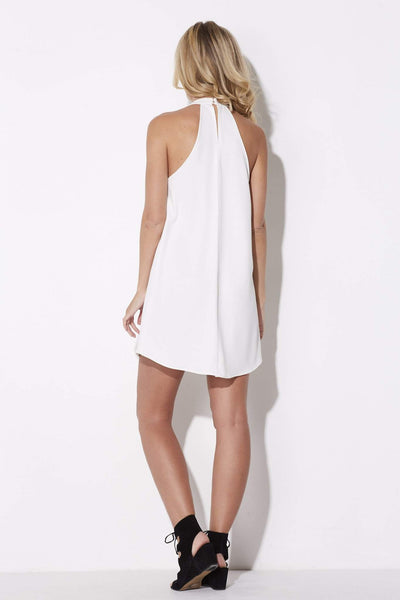 Bishop + Young - High Neck Swing Dress - rear