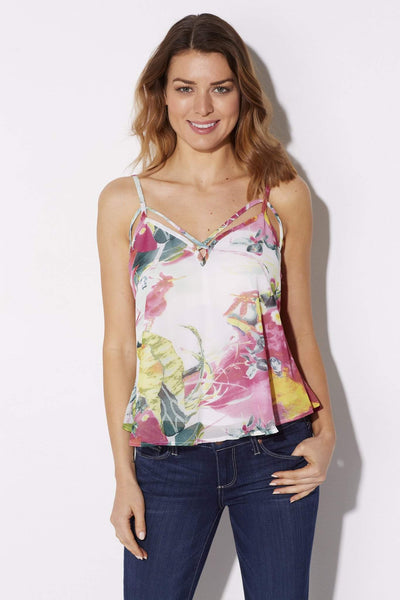 Bishop + Young - Floral Print Tank - front