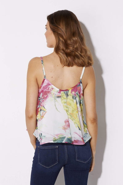 Bishop + Young - Floral Print Tank - rear
