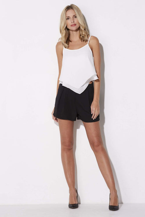 Flowy Pleated Shorts