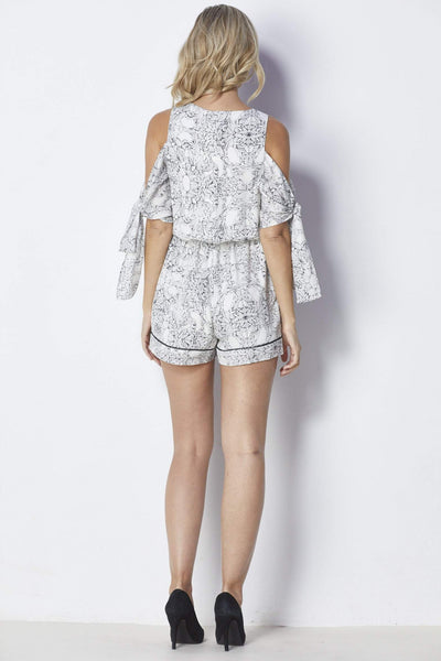 Adelyn Rae Lana Romper - Back