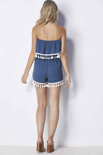 Jack by BB Dakota Faith Romper - Back