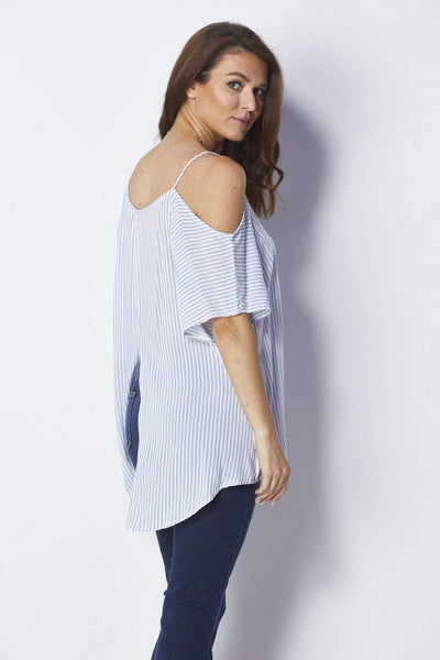 Bishop + Young Kate Cold Shoulder Top - Back