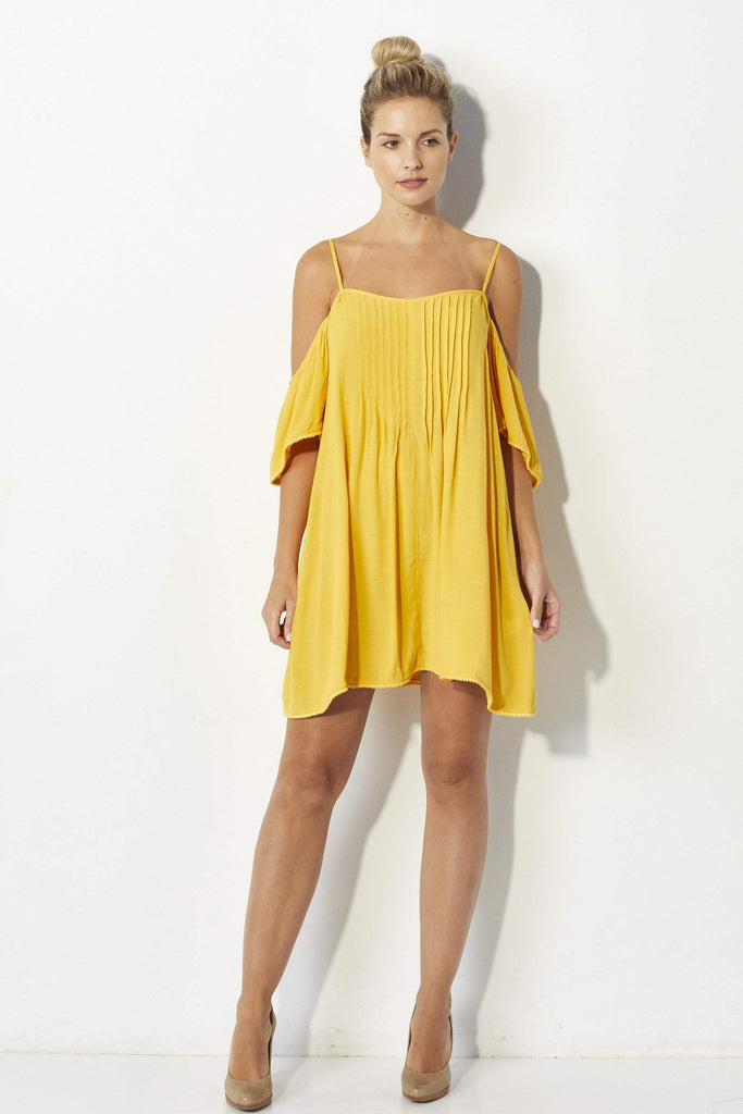 Bishop + Young Yellow Dress - Front