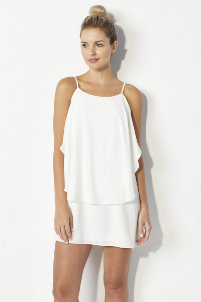 Mabel Mallow Layer Dress - Front