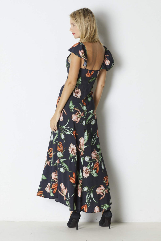 ASTR Florentina Dress - Back