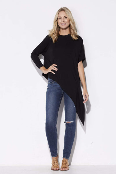 Black Asymmetrical Top