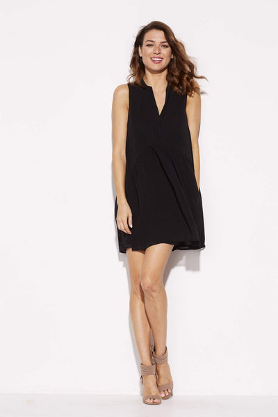 Black Baby Doll Shift Dress