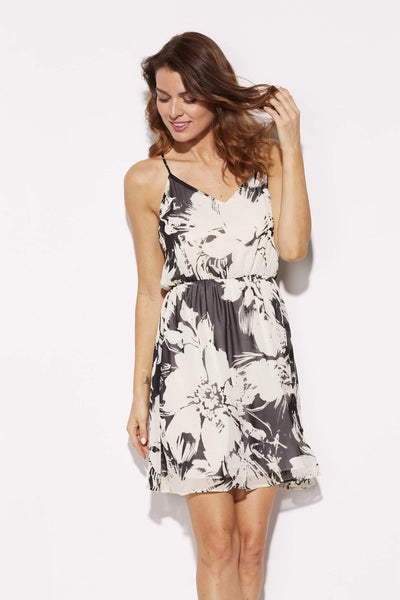 Everly - Floral Skater Dress