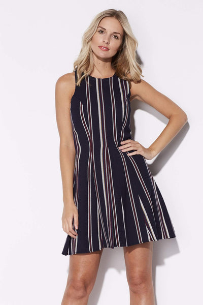Navy Stripe Dress