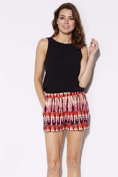 Tyche - Sunset Tie Dye Shorts - front