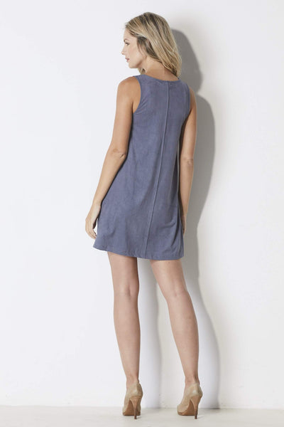 Z-Supply The Suede Tank Dress - Back