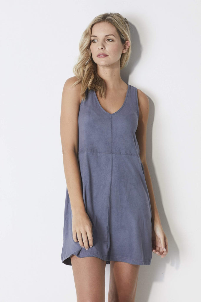 Z-Supply The Suede Tank Dress - Front