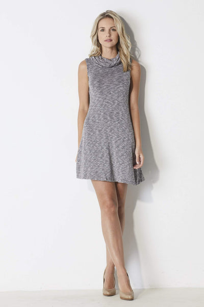 Bishop + Young Cowl Neck Dress - Front