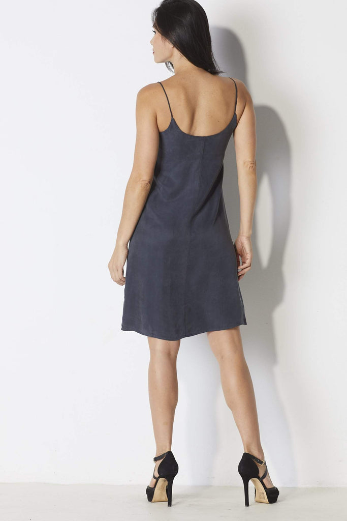 Mo:Vint Slip Dress - Back