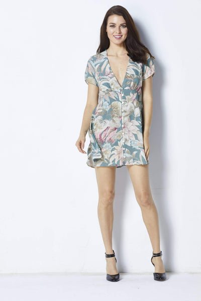 Show Me Your MuMu Robyn Babydoll Dress - Front