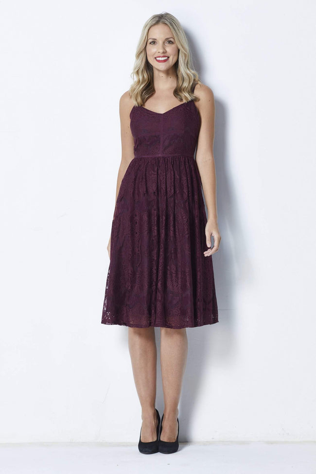 BB Dakota Galena Dress - Front