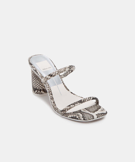 Isala Sandals Crystal Vinyl