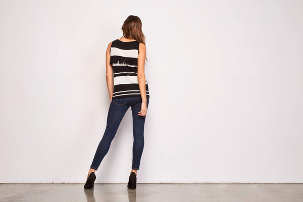 BB Dakota Eryn Fringe Sweater - Back View