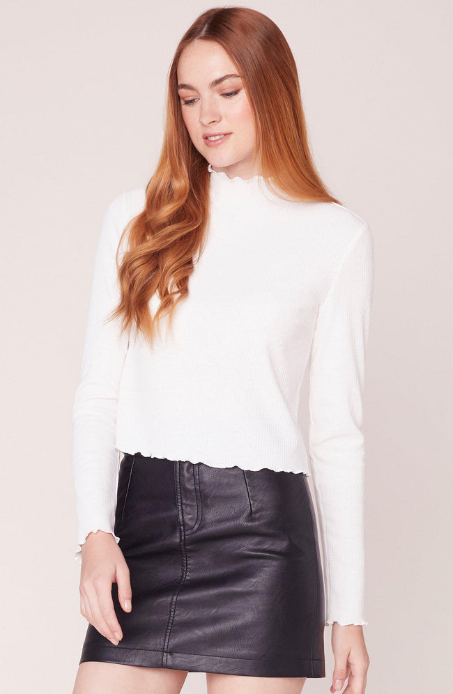 Best Intentions Rib Knit Top