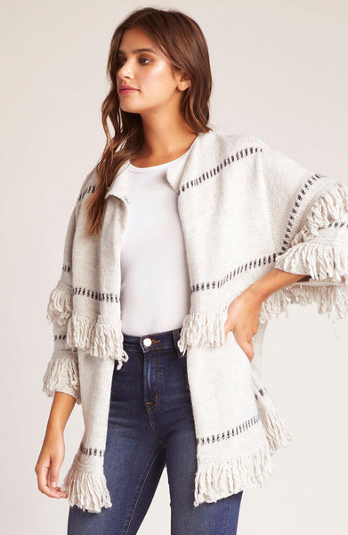 Fancy A Shag Fringe Cardigan