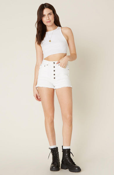 Down to Business Denim Shorts