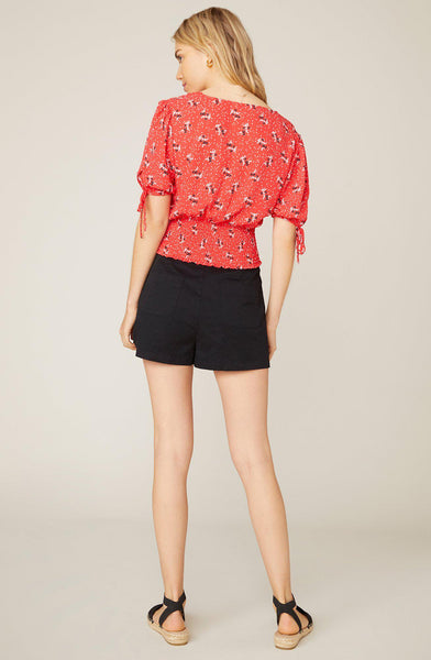Smock Show Coral