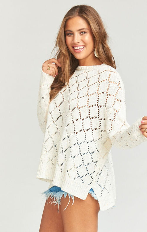 Hattie Sweater Sunset Confetti Knit