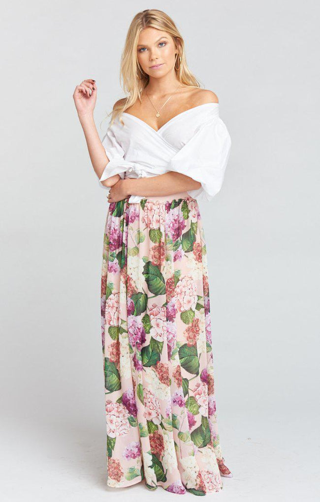 Misty Maxi Skirt - Honey Bunches