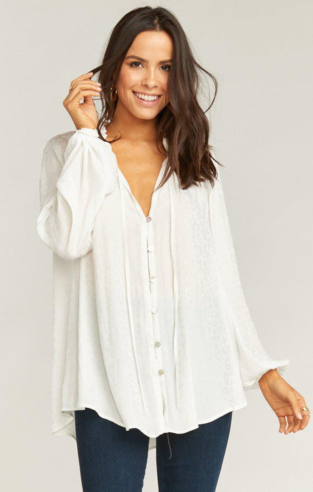 Chiffon Cloud Nine Top