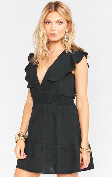 Adella Mini Dress Black